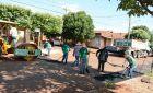 Após chuvas, Prefeitura de Fátima do Sul intensifica ações de operação tapa-buracos