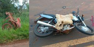 Mulher morre no Hospital da Vida após acidente envolvendo moto e carroçaem Deodápolis