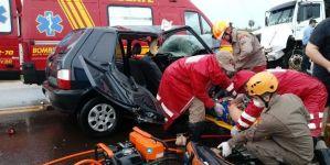 Ivinhema: Casal e idosos morre em acidente na MS-276