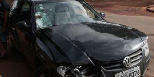 Motorista de Gol que atropelou homens em calçada estava bêbado