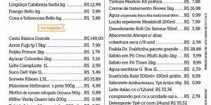 Confira as ofertas desta 'Sexta e Sábado' no Jorge Mercado; segunda tem Reinauguração
