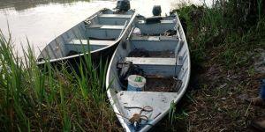 PMA desmonta acampamento prende dois pescando com petrechos ilegais em Jateí