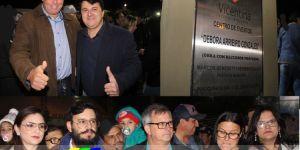 Fotos da abertura dos festejos do 31º aniversário de Vicentina
