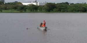 Corpo de homem que morreu afogado em lago é encontrado