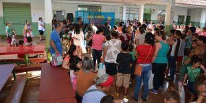 Centenas de alunos voltaram às aulas nas escolas da Rede Municipal de Ensino de Fátima do Sul e noDistrito de Culturama