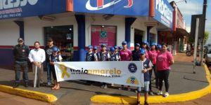Lançada campanha do Maio Amarelo em Fátima do Sul
