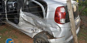 Colisão entre Uno e S10 deixa três pessoas feridas em Jateí