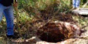 Marido encontra mulher morta com short abaixado dentro de poço em MS