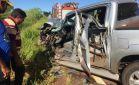 IVINHEMA: Colisão de camionete e caminhão deixam três feridos na MS-276