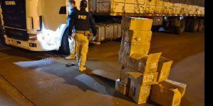 Caminhões com celulares do Paraguai são apreendidos no interior de MS